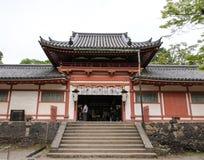 Um templo em Nara Park Fotos de Stock