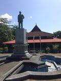 Um templo em Sri Lanka fotos de stock royalty free