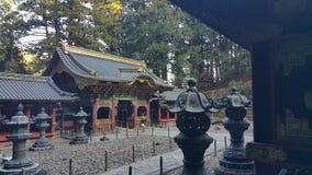 um templo xintoísmo em japão Foto de Stock