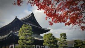 um templo xintoísmo em kyoto japão Fotos de Stock Royalty Free