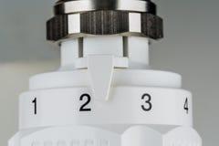 Um termostato do aquecimento Imagem de Stock