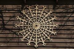 Um teste padrão bonito da madeira fotografia de stock royalty free