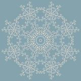 Um teste padrão circular de redemoinhos tirados mão ilustração royalty free