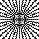 Teste padrão do triângulo Fotografia de Stock