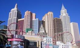 Um tiro do hotel & do casino de New York New York Foto de Stock