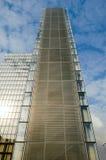 Um a torre da biblioteca nacional nova F Mitterand em Paris Fotografia de Stock