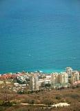 Um townlet de Foros, Crimeia do recurso, na mola Fotos de Stock