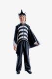 Um traje do carnaval de dracula foto de stock royalty free