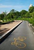 Um trajeto da bicicleta Fotografia de Stock Royalty Free