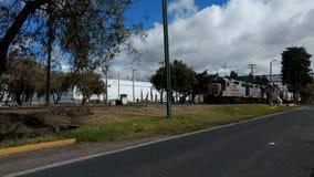 Um trem em Toluca Fotografia de Stock Royalty Free