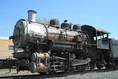 Um trem velho em um dia ensolarado Imagem de Stock Royalty Free