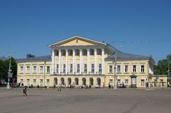 Um tribunal em Kostroma foto de stock royalty free