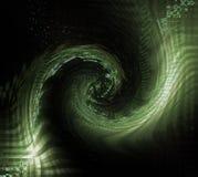 Um twirl de números da matriz Fotos de Stock Royalty Free