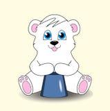 Um urso de peluche pequeno bonito Foto de Stock Royalty Free