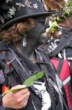 Um vagão em Jack no festival verde Foto de Stock Royalty Free