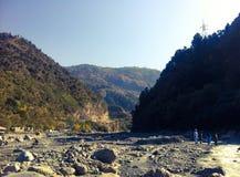 Um vale de pedra Foto de Stock Royalty Free