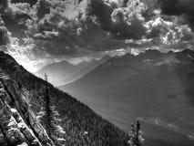 Um vale em Canadá Imagem de Stock