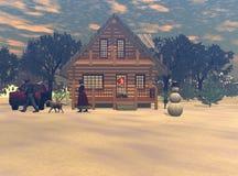 Um Valentim do inverno Fotos de Stock Royalty Free