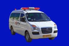 Um veículo com sinal especial Fotografia de Stock