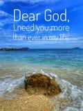 Um verso diário da Bíblia para a palavra do deus para o incentivo, a paz e a cura ao longo de hoje imagem de stock