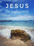 Um verso diário da Bíblia para a palavra do deus para o incentivo, a paz e a cura ao longo de hoje fotos de stock