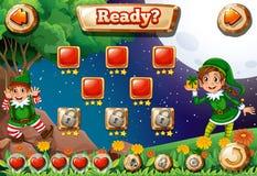 Um videogame Fotos de Stock