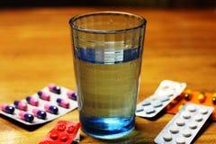 Um vidro da água Imagens de Stock Royalty Free