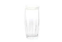 Um vidro da água fria. fotografia de stock