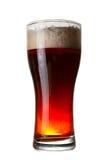 Um vidro da cerveja escura Fotografia de Stock