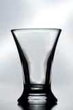 Um vidro de tiro vazio Fotografia de Stock