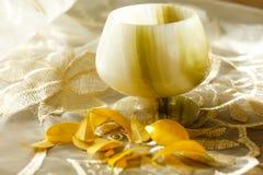 Um vidro do ônix Imagem de Stock