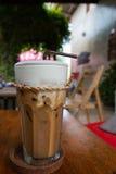 Um vidro do café congelado Fotografia de Stock Royalty Free