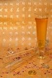 Um vidro do champanhe Imagem de Stock Royalty Free