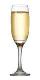 Um vidro do champanhe foto de stock