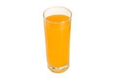 Um vidro do sumo de laranja Imagens de Stock