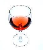 Um vidro do vinho Imagem de Stock Royalty Free