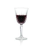 Um vidro do vinho. Fotos de Stock Royalty Free
