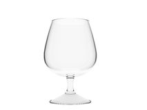 Um vidro vazio do conhaque ilustração royalty free