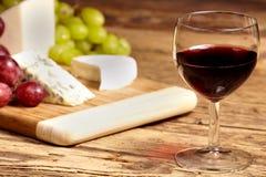 Um vidro vermelho do vinho Foto de Stock Royalty Free