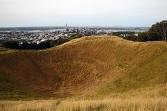 Um vulcão em sua entrada Imagem de Stock Royalty Free