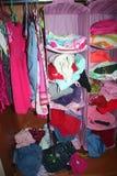 Um wardrobe da criança Imagens de Stock Royalty Free