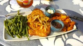 Um wel classificou a refeição para o dia Fotografia de Stock Royalty Free