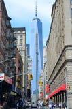 Um World Trade Center Foto de Stock Royalty Free