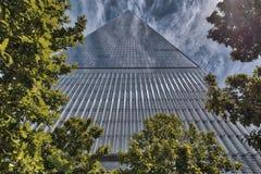 Um World Trade Center, Lower Manhattan Foto de Stock
