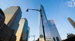 Um World Trade Center, Manhattan, NYC imagens de stock royalty free