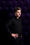 Um yougn beautyful e um homem 'sexy' Fotografia de Stock Royalty Free