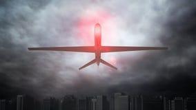 Um zangão 2não pilotado Fotografia de Stock