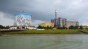 Uma área de exposição interessante em Alemanha Foto de Stock Royalty Free