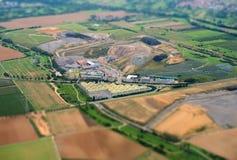 Uma área industrial Imagem de Stock Royalty Free