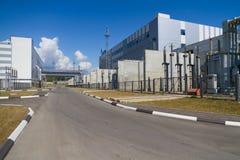 Uma área industrial Imagem de Stock